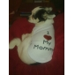 T-shirt I love my Mommy per cani, XS-M