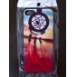 The Setting Sun Coloured Drawing Pattern Black Frame PC Hard Case for iPhone 5/5S