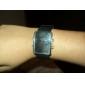 Place numérique de bande de silicone conduit montre-bracelet