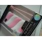 algodão doce projeto de sílica gel estojo para iphone 5/5s (cores sortidas)