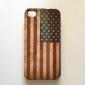 Vintage US Flag Pattern Hard Case for iPhone 4/4S (Union Jack)