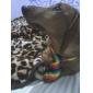 애완 동물을위한 화려한 무지개 패턴 목에 넥타이 고양이 개들은 (목 : 26-38cm)