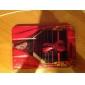Elegante Padrão PU Leather Case Full Body Violoncello com suporte e slot para cartão mini-iPad