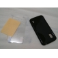S padrão TPU de proteção macia com protetor de tela para LG Google Nexus 4 E960 (opcional Cores)