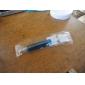 Needle Tube Shaped Blue Ink Ballpoint Pen (Random Color)