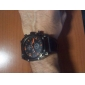 Gladiator - Herre Sport PC Quartz Armbåndsur med Sort PU Læderrem