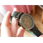 Women's Star Style Leather Analog Quartz Wrist Watch (Assorted Colors)