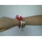lureme®gold sistema de la pulsera del bowknot chapado (colores surtidos)