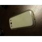 Genomskinligt Mjukt TPU-Skal för Samsung Galaxy S3 I9300
