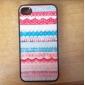 Etui Rigide Motif Spécial pour iPhone 4/4S - Multicolore