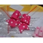 Elegant Spot Pattern Rubber Band Hair Bow for Dogs Cats