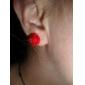 Women's Rose Stud Earring