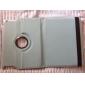 Karte Muster Stil 360 Grad PU Leder Tasche & Stand für iPad 2/3/4 (braun)