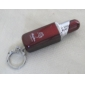 Lipstick Shape Metal Gas Lighter - Red