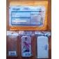 Flip-Open Design Noble Alligator Grain Leather Case for Samsung Galaxy S4 I9500 (Assorted Colors)