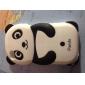 iPhone 4 ve 4S İçin Güzel Panda Desenli Silikon Kılıf (Çok Renkli)