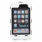 antichoque caso de defensa con el protector de pantalla para iPod Touch 4 (colores surtidos)