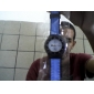 Homens Relógio Esportivo Único Criativo relógio Japanês Quartzo Borracha Banda Preta Azul Vermelho