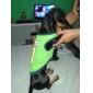 Camiseta - Verão - Verde Algodão - para Cães - XS / M / S / L