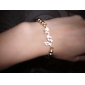 Crystal Love Infinity Stretch Bracelet