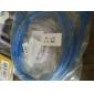 USB 3.0 AA uros-naaras jatkojohto (1m, sininen)