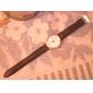 Unisex PU Leather Watch Strap 18MM(Black)