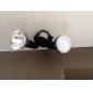 Foco Dirigido LED GU10 de Luz Blanca Cálida de 3000 a 3500 K de 9W (85 a 265V)