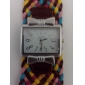 Women's Square Case Fashion Fabric Band Quartz Wrist Watch (Assorted Colors)  Cool Watches Unique Watches
