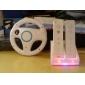 Renn-Lenkrad Controller für Wii / Wii U (weiß)