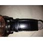 Unisex Genuine Leather Watch Strap 18MM(Black)