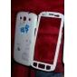 Birdcage frontal Patrón de nuevo caso y completa para Samsung I9300 Galaxy S3 (colores surtidos)