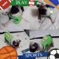 champ 1 patrón chaleco para perros (verde, xs-l)