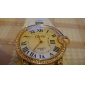 dámské elegantní kožená analogové quartz náramkové módní hodinky (různé barvy)