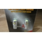 T10 2.5W 200-220LM White Light LED Bulb for Car Lamps (2-Pack, DC 12V)