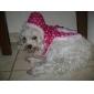 Herz-Muster Baumwolle Jacke mit Kapuze für Hund (sl, sortierte Farbe)