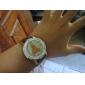 Femmes Eiffel Tower Style PU montre-bracelet à quartz analogique (couleurs assorties)