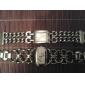 Women's Watch Square Radial Pattern Dial Bracelet Watch