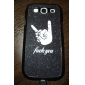 Finger Pattern Hard Case for Samsung Galaxy S3 I9300