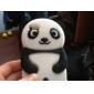 3D Panda Diseñado Silica Gel Funda para el iPod touch 4