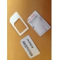 Micro Sim Card to Standard Sim Card Adapter (White)