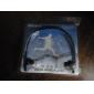 Fones de Ouvido Esportivo Estéreo e Tocador de MP3 Cartão TF Recarregável