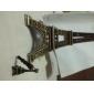 3,5 mm Bronze Tour Eiffel Modèle anti-poussière Prise écouteurs