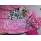 Leopard Printing Pattern Downy Coat with Hoodie for Dog (S-XL)