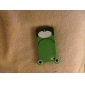 Cartoon Frog Pattern Hard Case for iPhone 4 and 4S (Green)