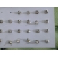 Shining Pearl Earrings Jewelry Set (Contain 12 Pairs)