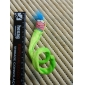 Smiling Earthworm Style Catnip Toy for Cat (Green)