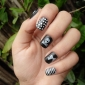 Flowers Style Nail Art Stamping Image Template Plate