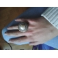 anillo de apertura Patten disco perla lureme®vintage