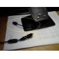 Micro USB mâle vers mini usb femelle adaptateur câble de 0.1m