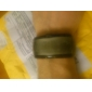 팔찌 디자인 퓨처리스틱 블루LED 손목시계 - 블랙